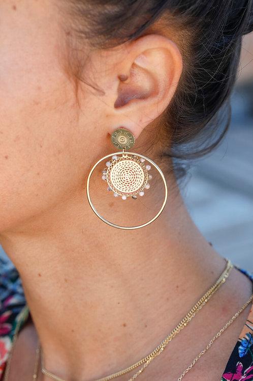 Boucles d'oreilles Célia 1