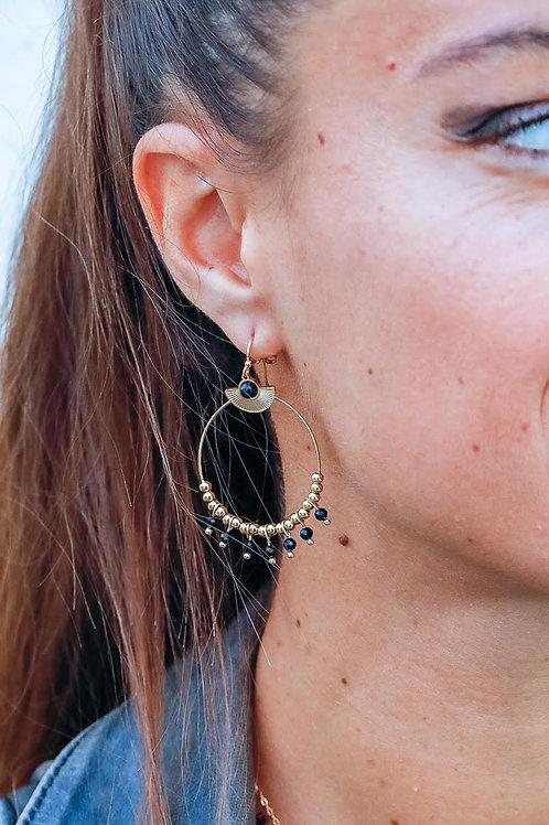 Boucles d'oreilles Agathe 1