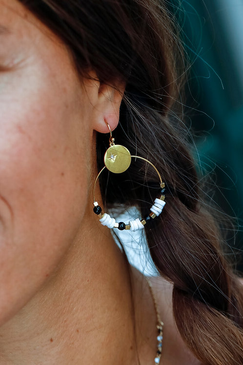 Boucles d'oreillesCharline