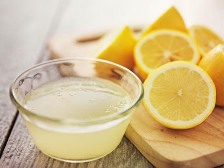 Il succo di limone e le sue proprietà