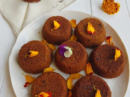 Tortine Magiche con Castagne, Nocciole e gocce di Cioccolato fondente