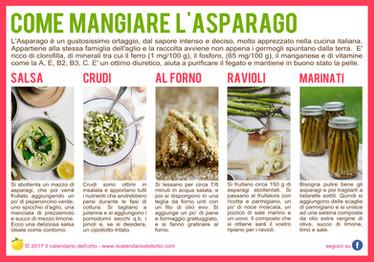 come mangiare gli asparagi