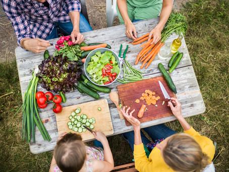 I vantaggi di mangiare ortaggi crudi