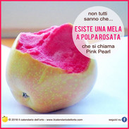 mela a polpa rosata
