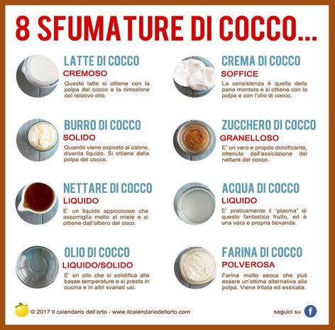 8 sfumature di cocco