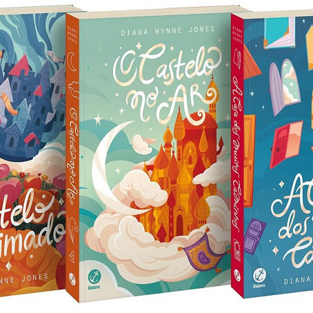 Mistério e Fantasia: Conheça a trilogia Castelo Animado