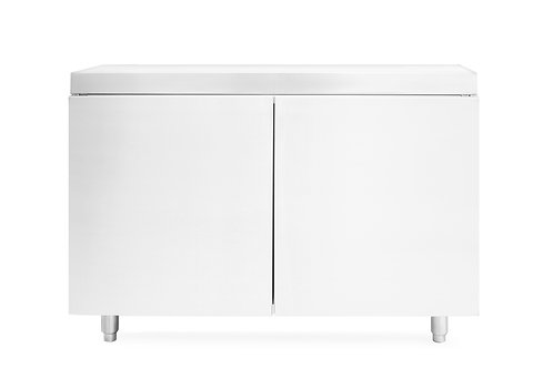 "36"" Stainless Steel Grill Cabinet"