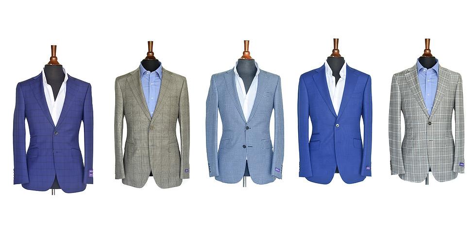 D & M Clothiers Sample Suit Sale