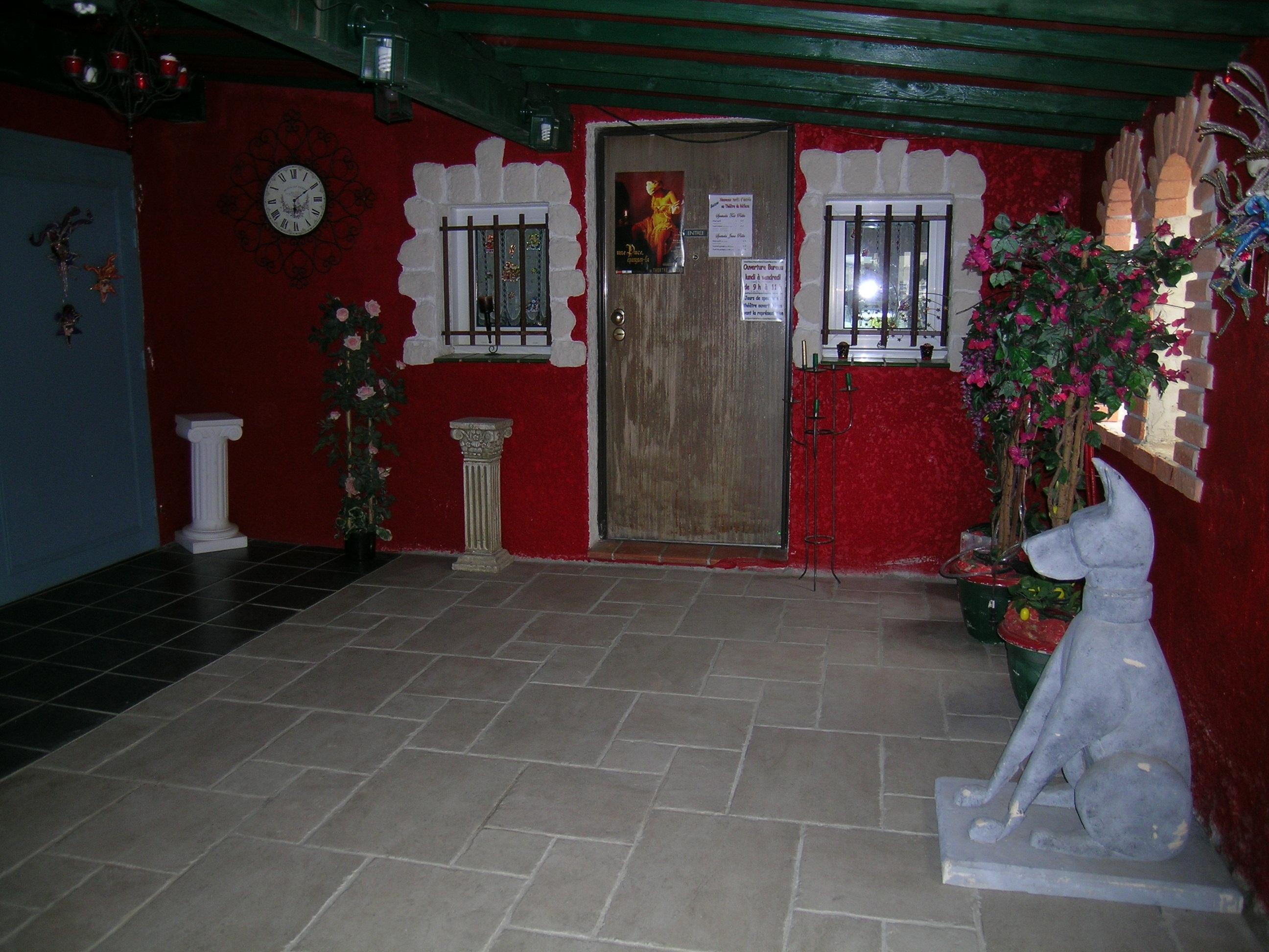Hall d'entrée du Théâtre du Réflexe en JPEG