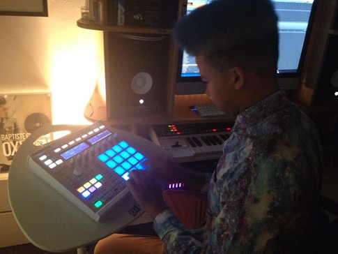 15 year old producer Namali interning with me..jpg