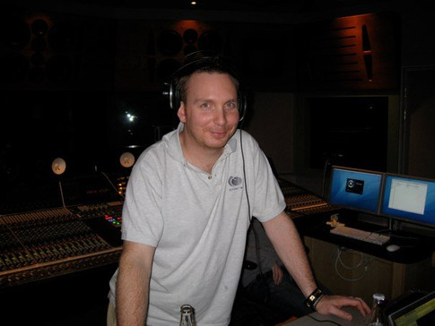 Frank ( Engineer for all my projects) at Sphere Studios 1...jpg