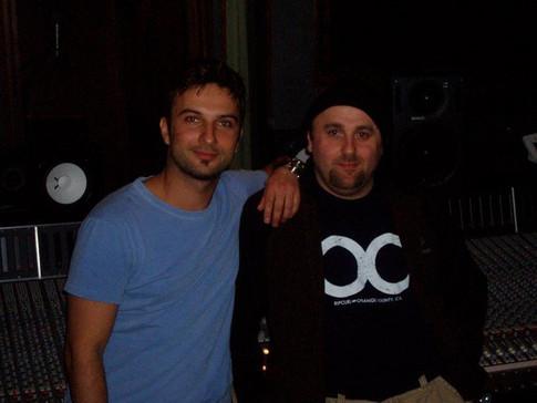 Tarkan and I in L.A at Westlake Studios, recording his U.S remix album, feat.jpg