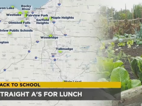 Local school districts get 'straight A's' for lunch with more local produce