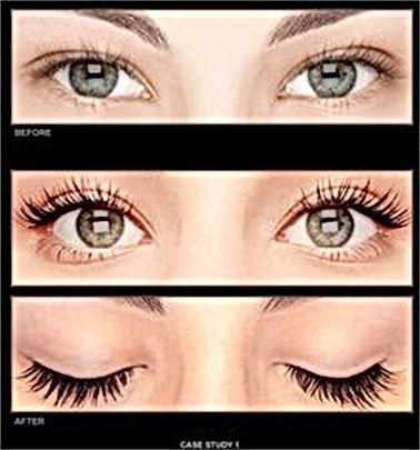 Pure silk eyelash extensions