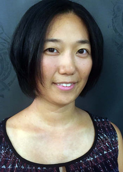 Kim after haircut