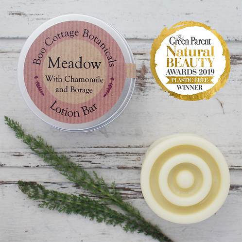Boo Cottage Botanicals Lotion Bar: Meadow 50g