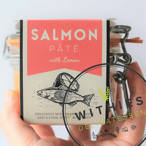 Withies Deli Salmon Pate with Lemon 10g