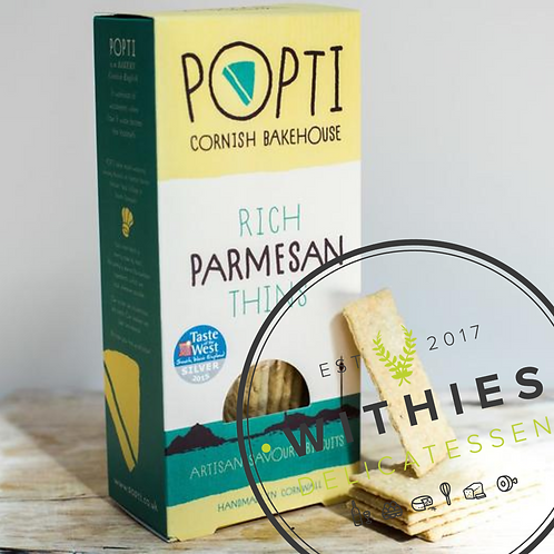 Withies Deli Parmesan Thins 120g