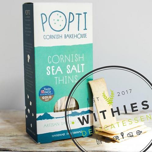 Withies Deli Cornish Sea Salt Thins 120g