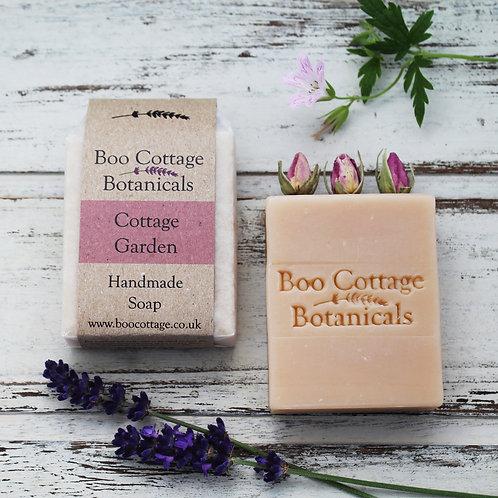 Boo Cottage Botanicals Handmade Soap: Cottage Garden 100g