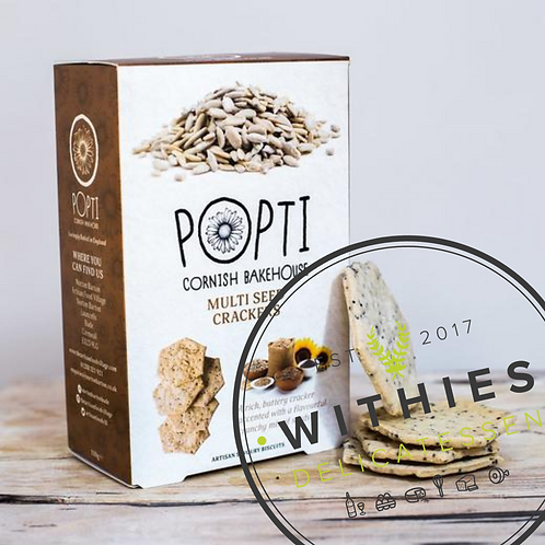 Withies Deli Multiseed Crackers for Cheese 100g