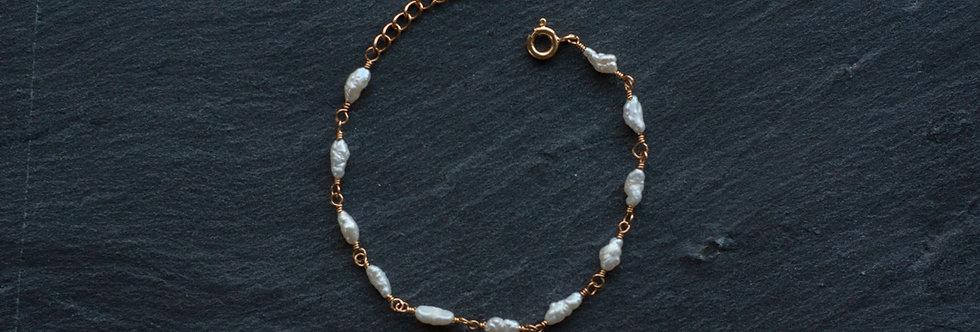 """Bracelet Luna """"Perles d'eau douce"""""""