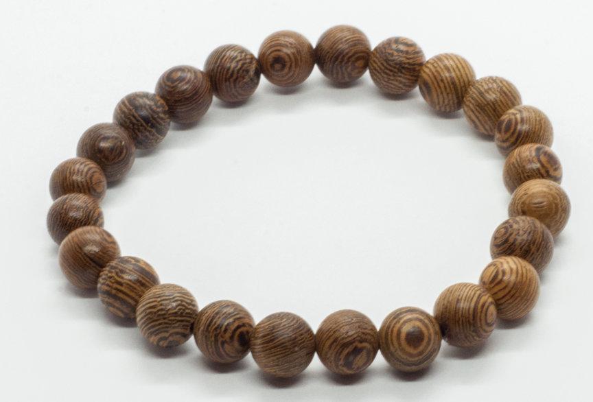 Bracelet Bois de Wengé 8mm