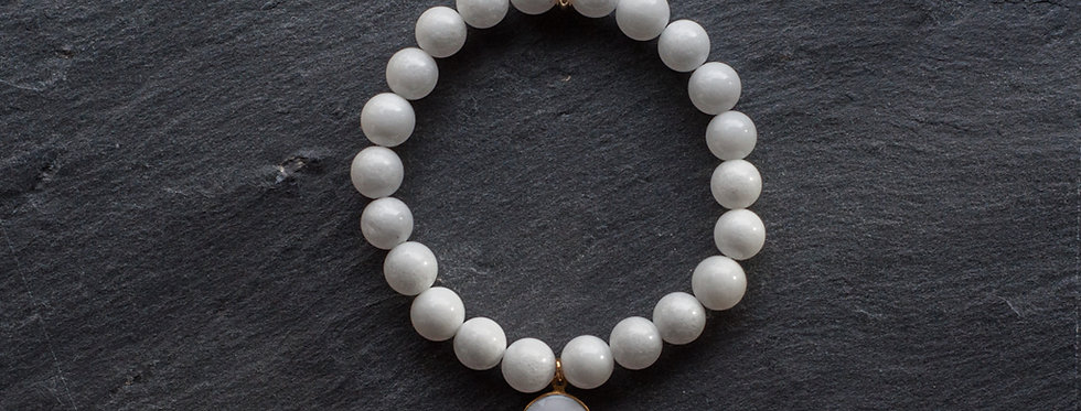 Bracelet pierres 8mm