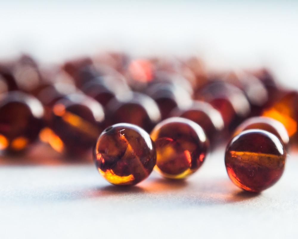 Ambre 6mm pierre lithothérapie, pierres naturelles ambre