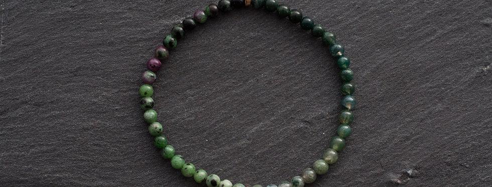 Bracelet pierres 4mm