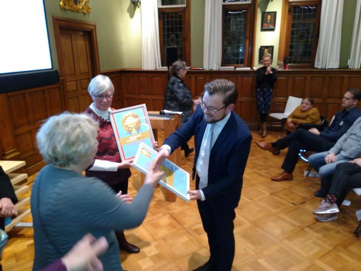 MuzeeAquarium ontvangt Provinciale Vrijwilligersprijs!