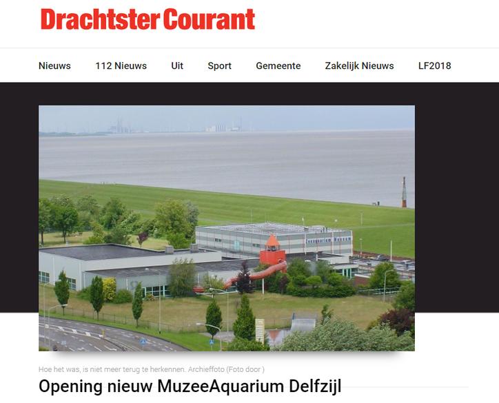 Het nieuwe MuzeeAquarium in Delfzijl wordt vrijdag 1 juni officieel geopend
