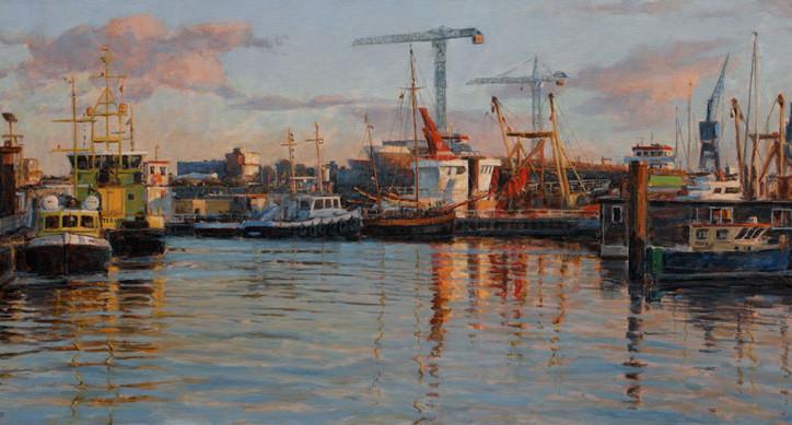 Nieuwe tentoonstelling: Havens aan zee, schilderijen