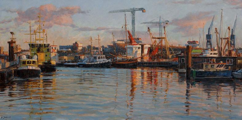 'Haven van Delfzijl', Walter Stoelwinder