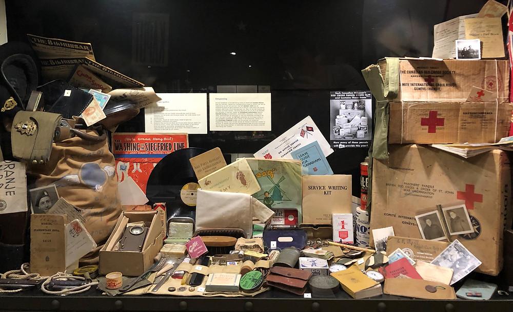 Eem greep uit de collectie van oorlogsobjecten.