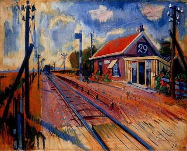Wachtershuisje te Eenum, Johan Dijkstra
