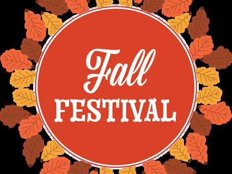 SMSG Fall Festival