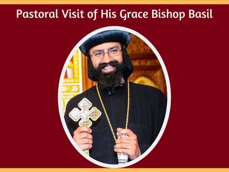 H.G. Bishop Basil's Pastoral Visit (June 2021)