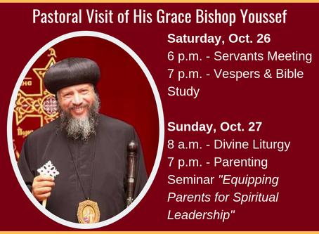 H.G. Bishop Youssef's Pastoral Visit