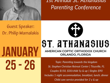Parenting Conference - January 25-26, 2019