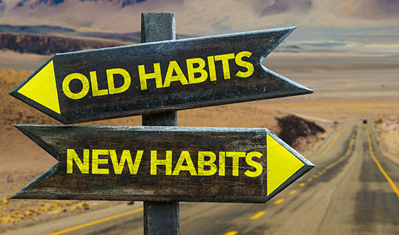 Old Habits and New Habits