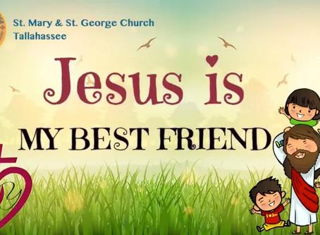 Jesus is My Best Friend – Children's CD