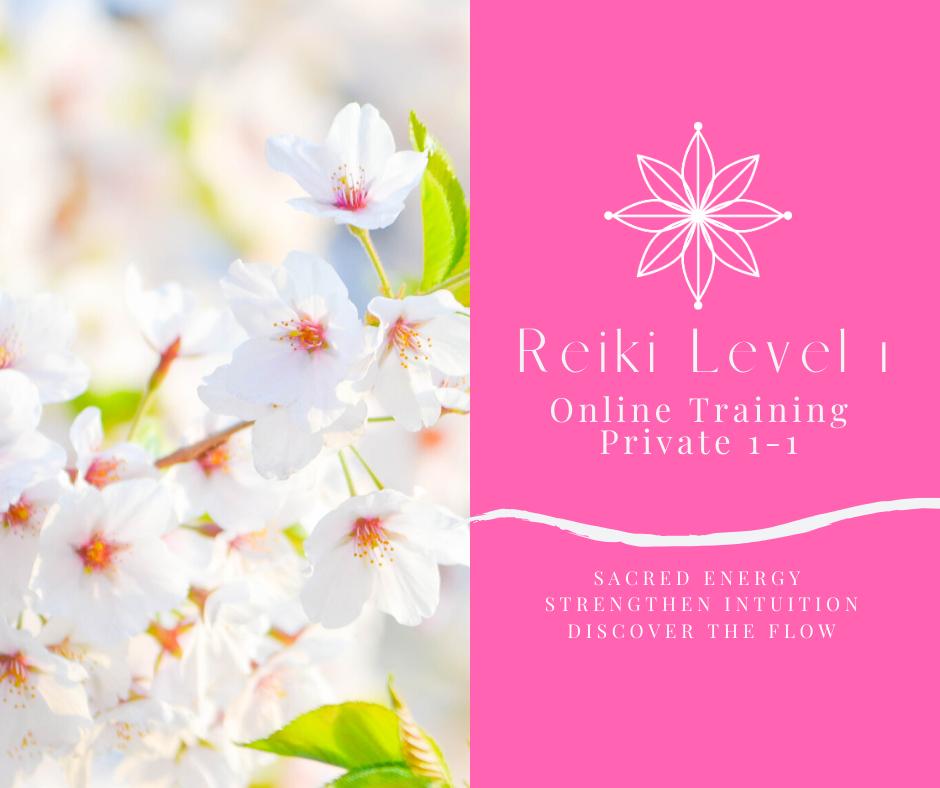 Reiki 1 Training (1-1) ONLINE