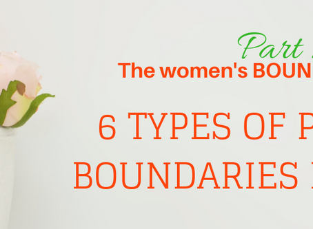 The Boundaries Series - PART 2