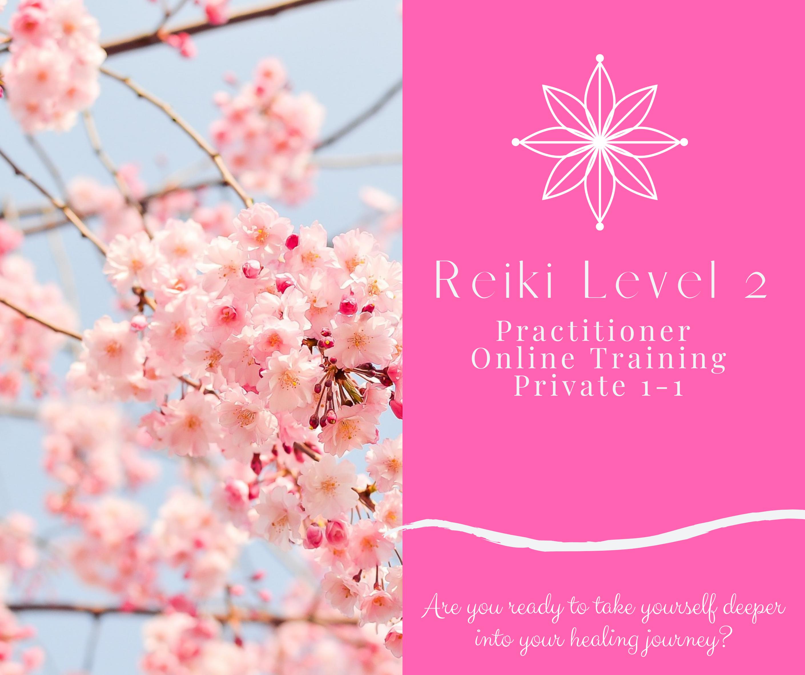Reiki 2 Training (1-1) ONLINE