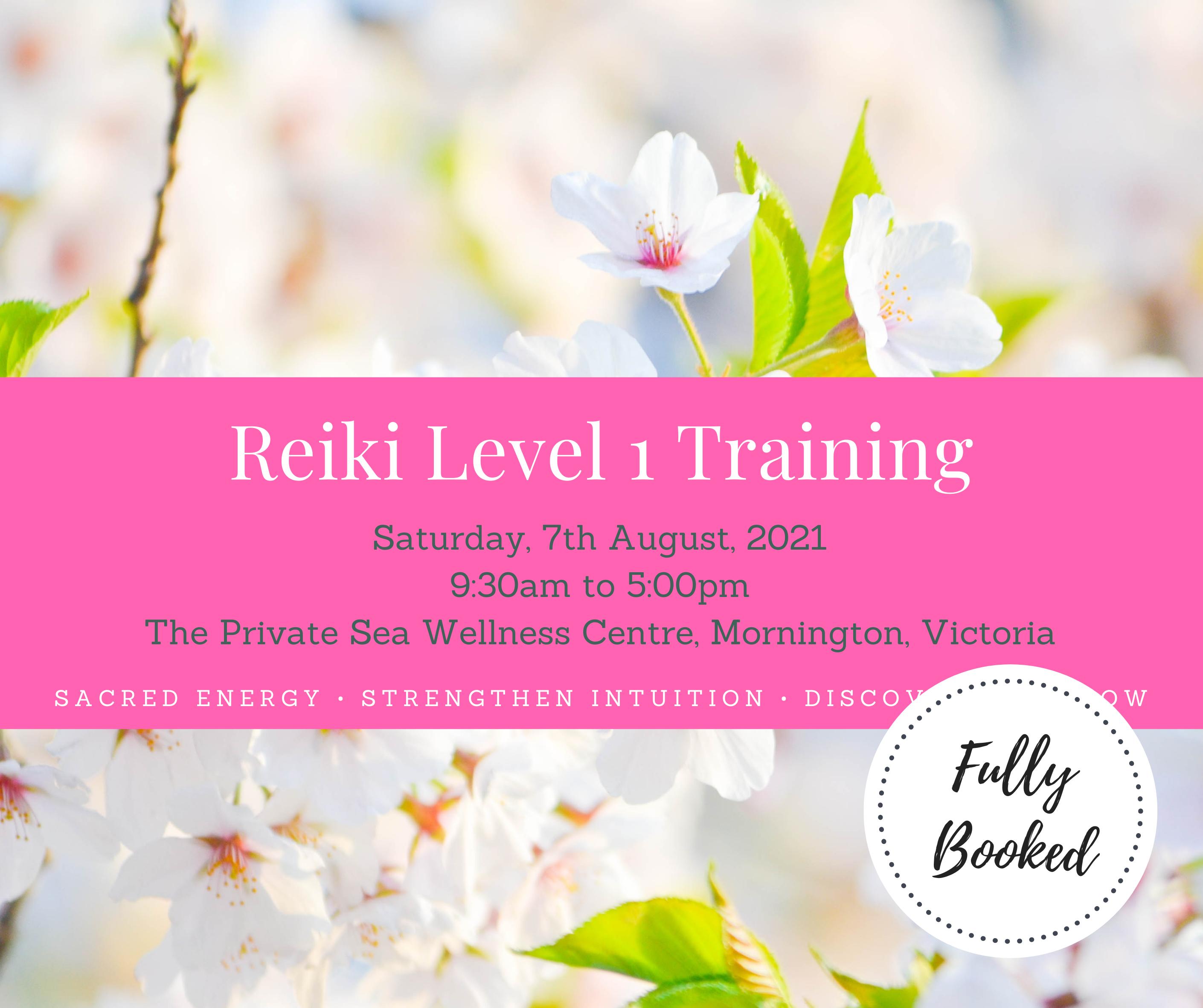 Reiki Level 1 Group Training