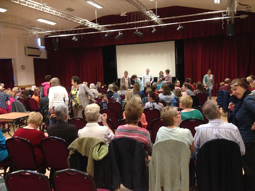 grange hall, nottingham film event