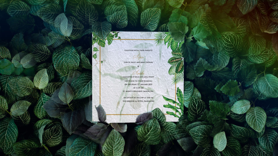 ECO-FRIENDLY INVITES