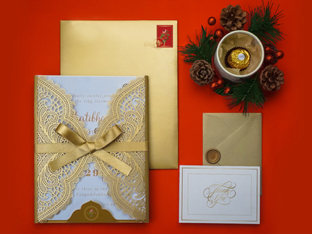 Dressing your wedding invitation with our unique ideas.