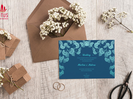 Vibrant Wedding Cards for this season